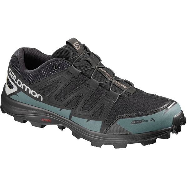 Speedspike CS Black/Reflective Silver/Mallard Blue - Men's