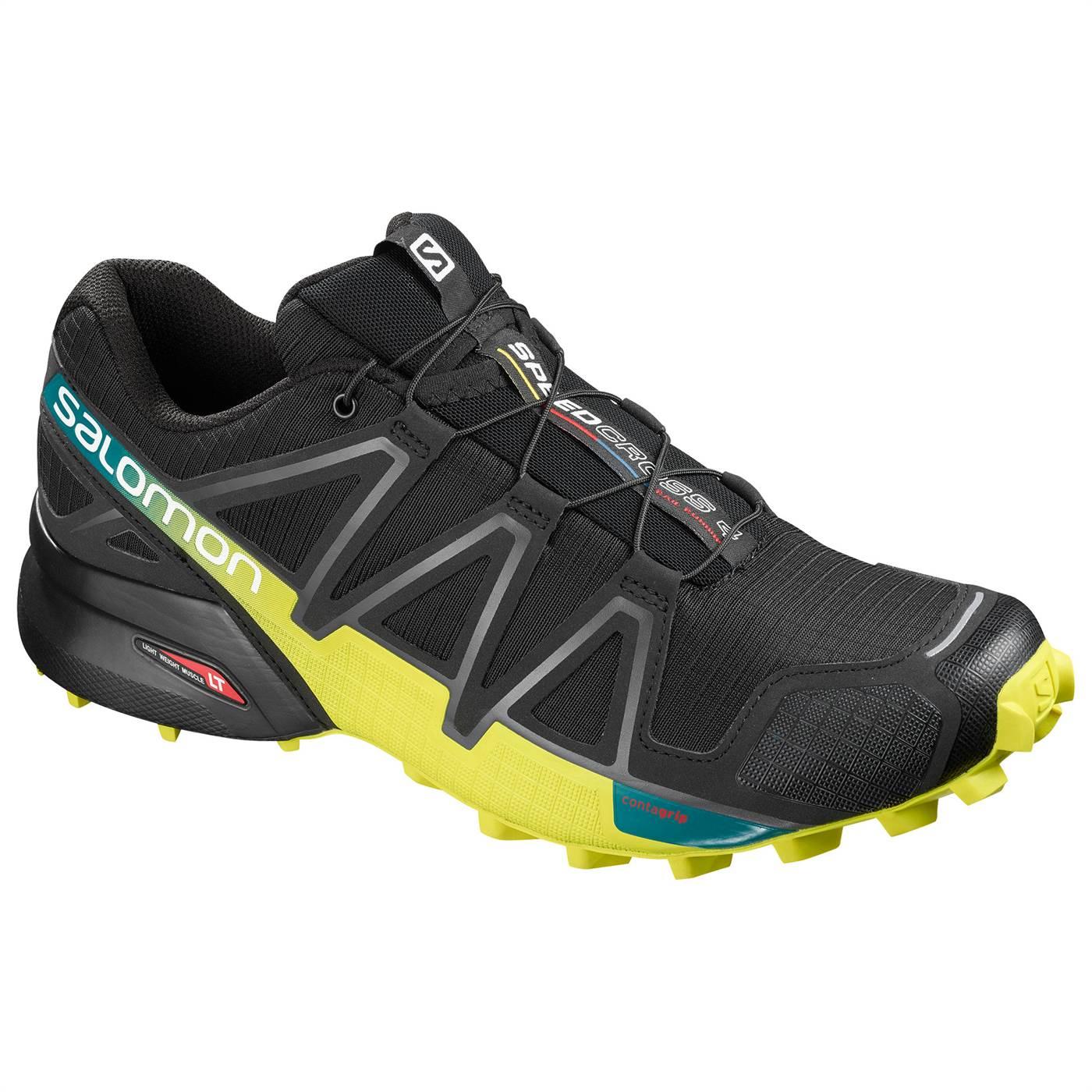 Speedcross 4 Shoe Black - Men's