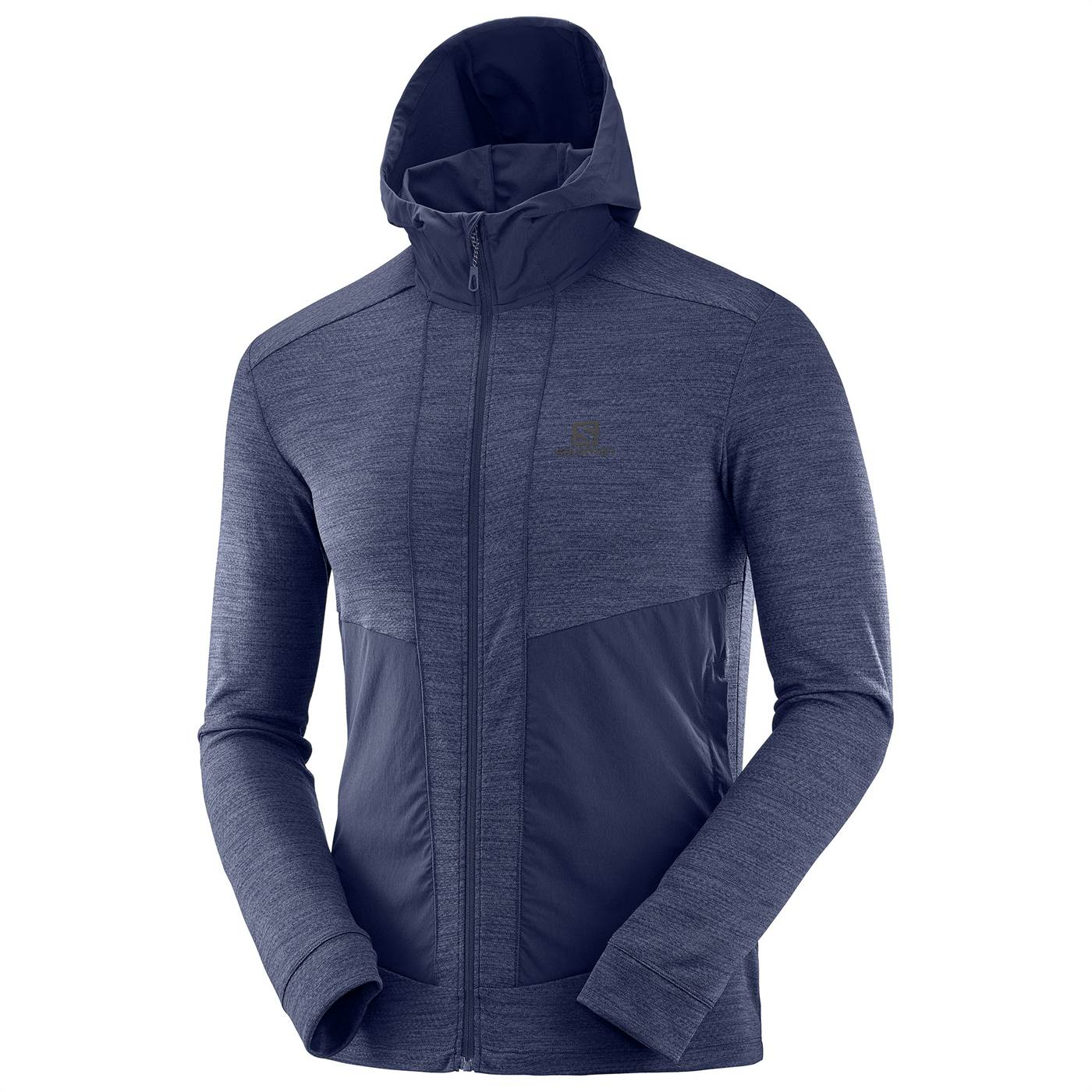 Outline Mid Jacket Night Sky Heather- Men's