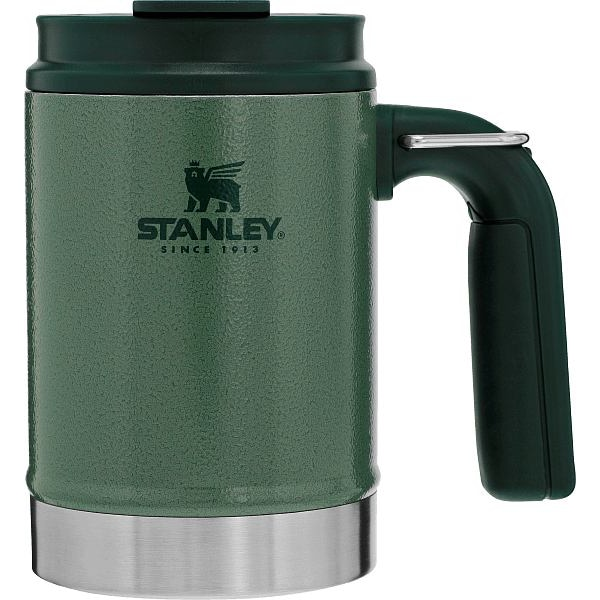 Classic Big Grip Camp Mug 16 oz Green