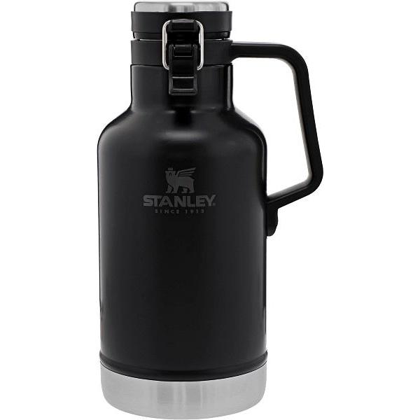 Classic Easy-Pour Growler 64 oz Black