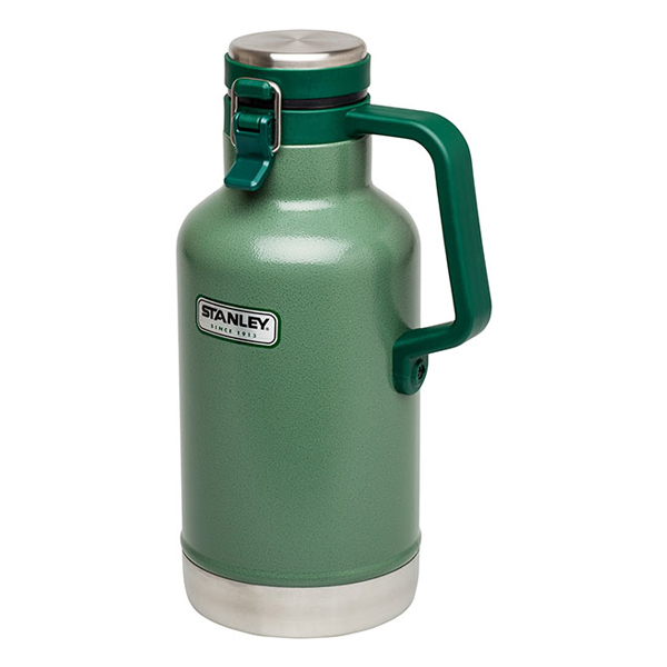 Classic Vacuum Growler 2 qt Green