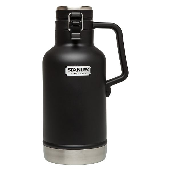 Classic Vacuum Growler 2 qt Black