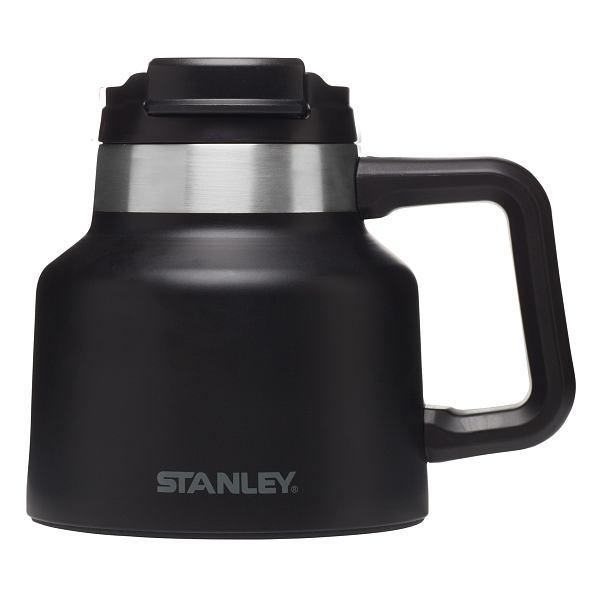 Adventure Vacuum Wide Mug Black