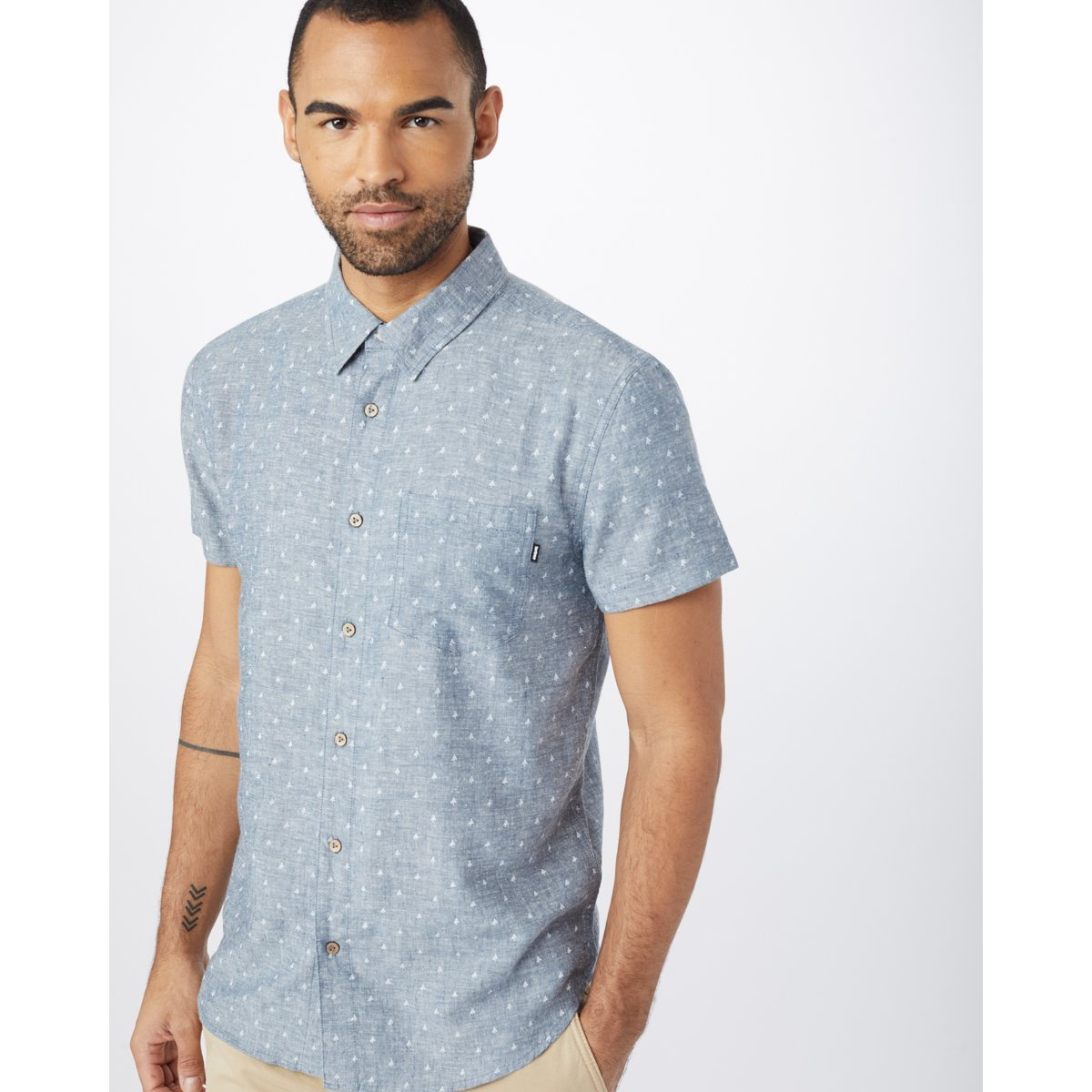 Mancos Button Up Short Sleeve -Men's