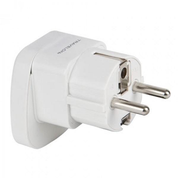 Europe Grounded Adapter Plug