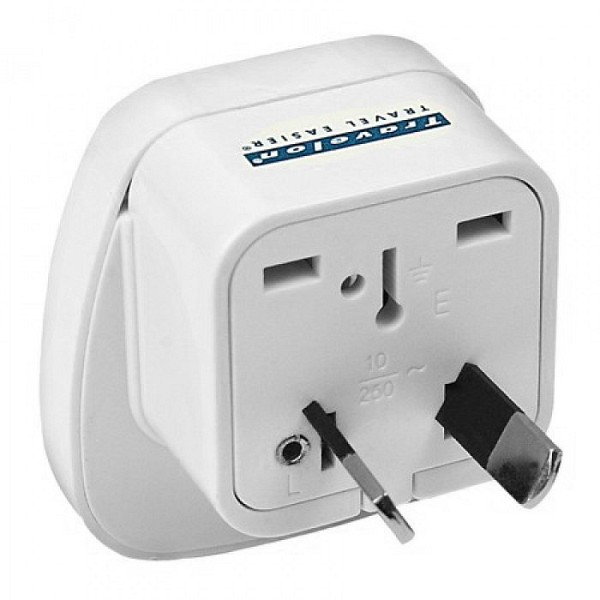 Australia Grounded Adaptr Plug