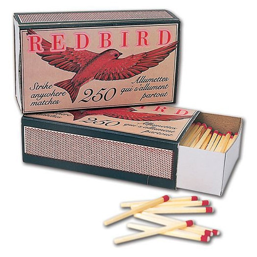 250 Pk 48/Case Matches