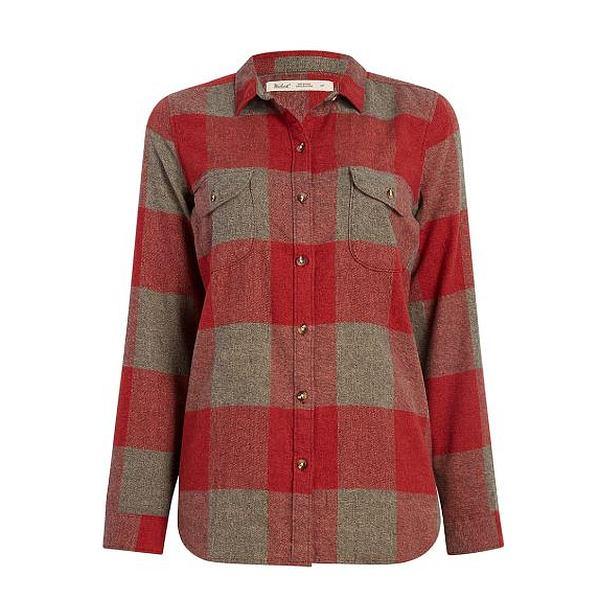 Twisted Rich Flannel Shirt - Women's