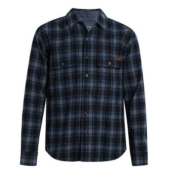 Bering Wool Shirt Long Sleeve - Men's